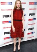 Amanda Seyfried attends 'White Noise' Off Broadway play Opening Night in New York City