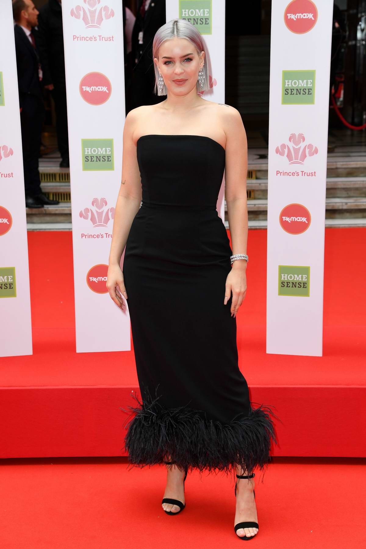 Anne-Marie attends The Prince's Trust, TKMaxx and Homesense Awards in London, UK