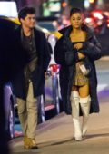 Ariana Grande and ex boyfriend Graham Phillips spotted during a night out at Carbone in New York City