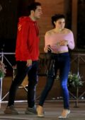 Ariel Winter seen leaving dinner at Il Pastaio restaurant with her friend in Beverly Hills, Los Angeles