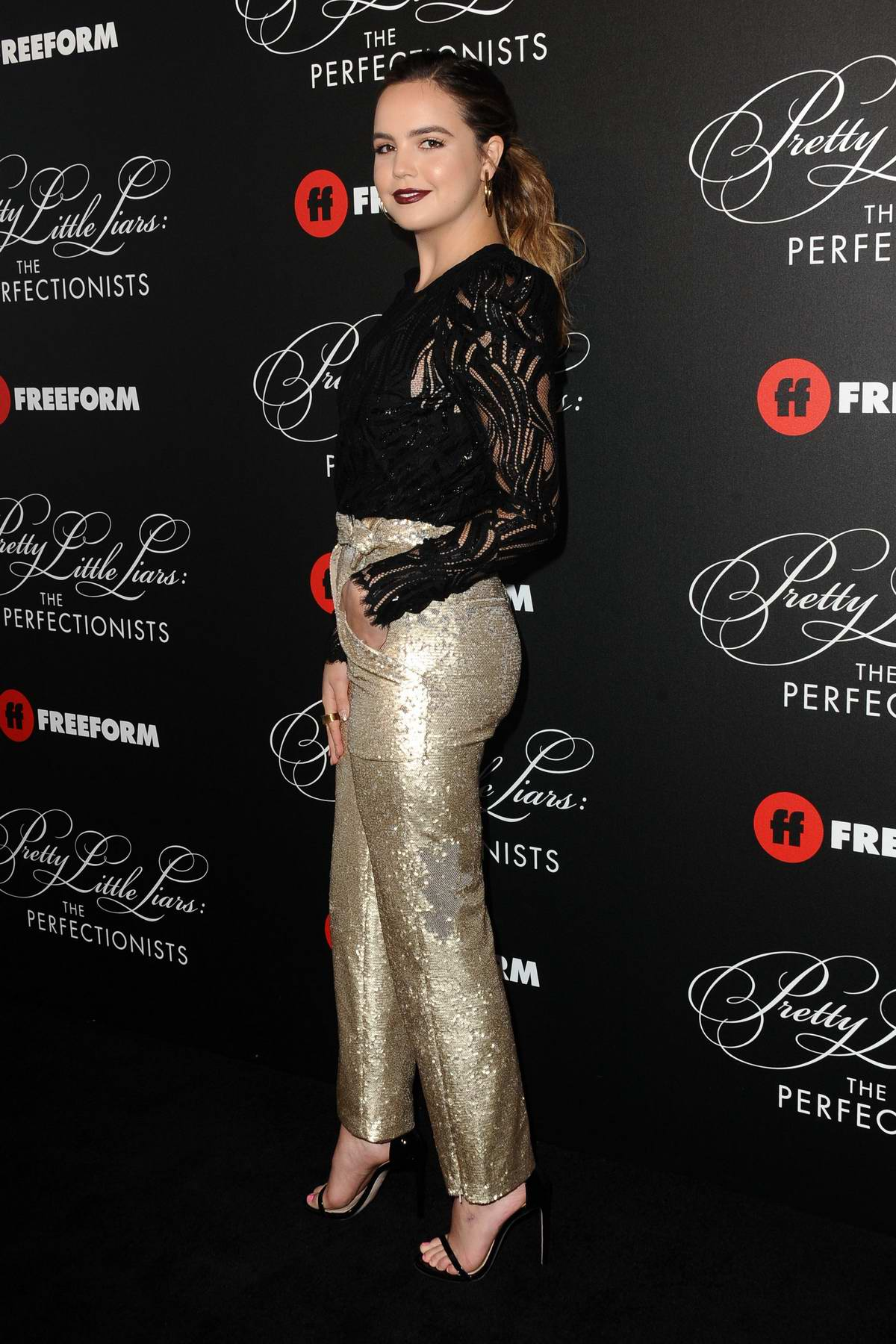 Bailee Madison attends 'Pretty Little Liars: The Perfectionists' premiere at Hollywood Athletic Club in Hollywood, California