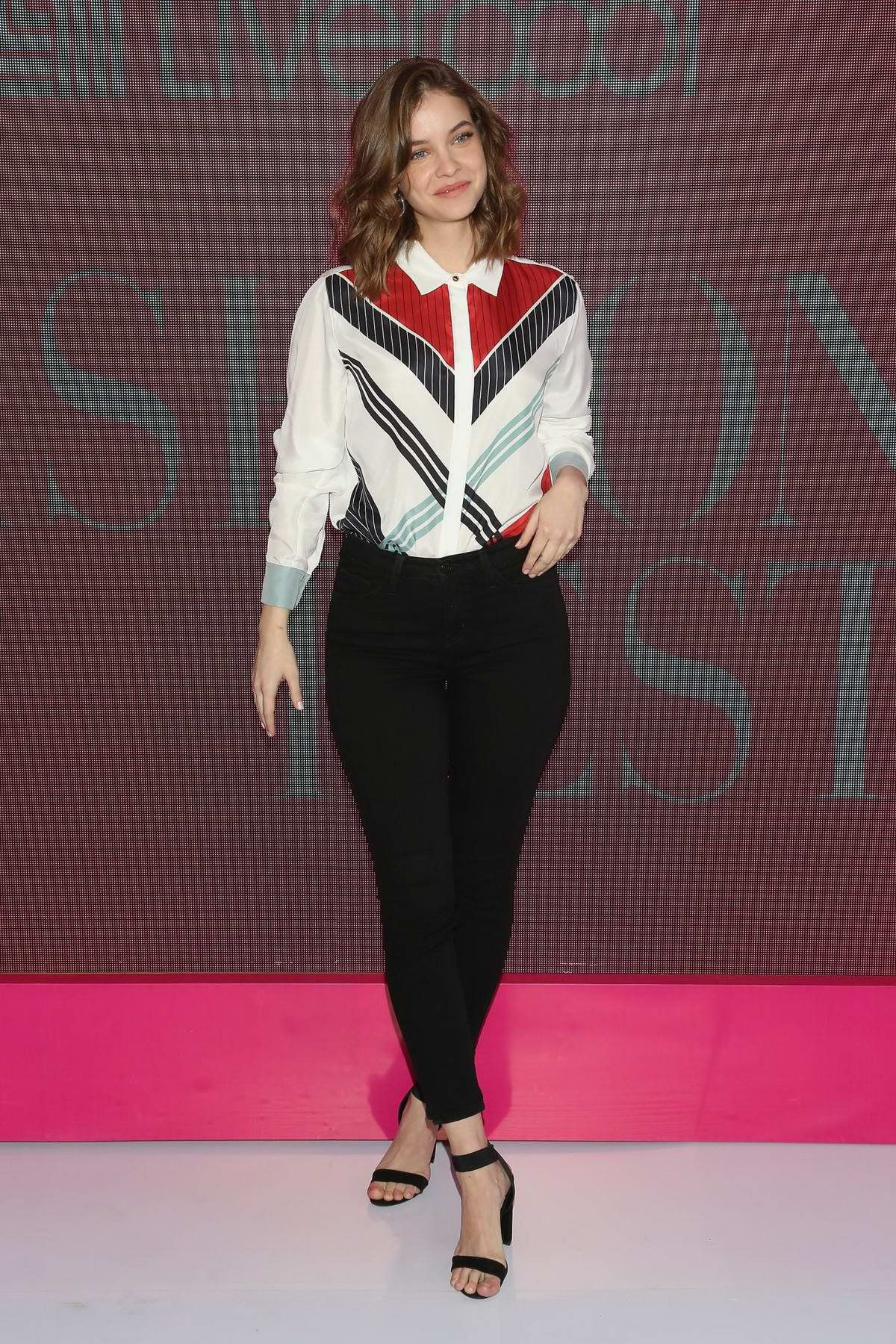 Barbara Palvin attends a press conference during the Liverpool Fashion Fest SS 2019 in Mexico City, Mexico
