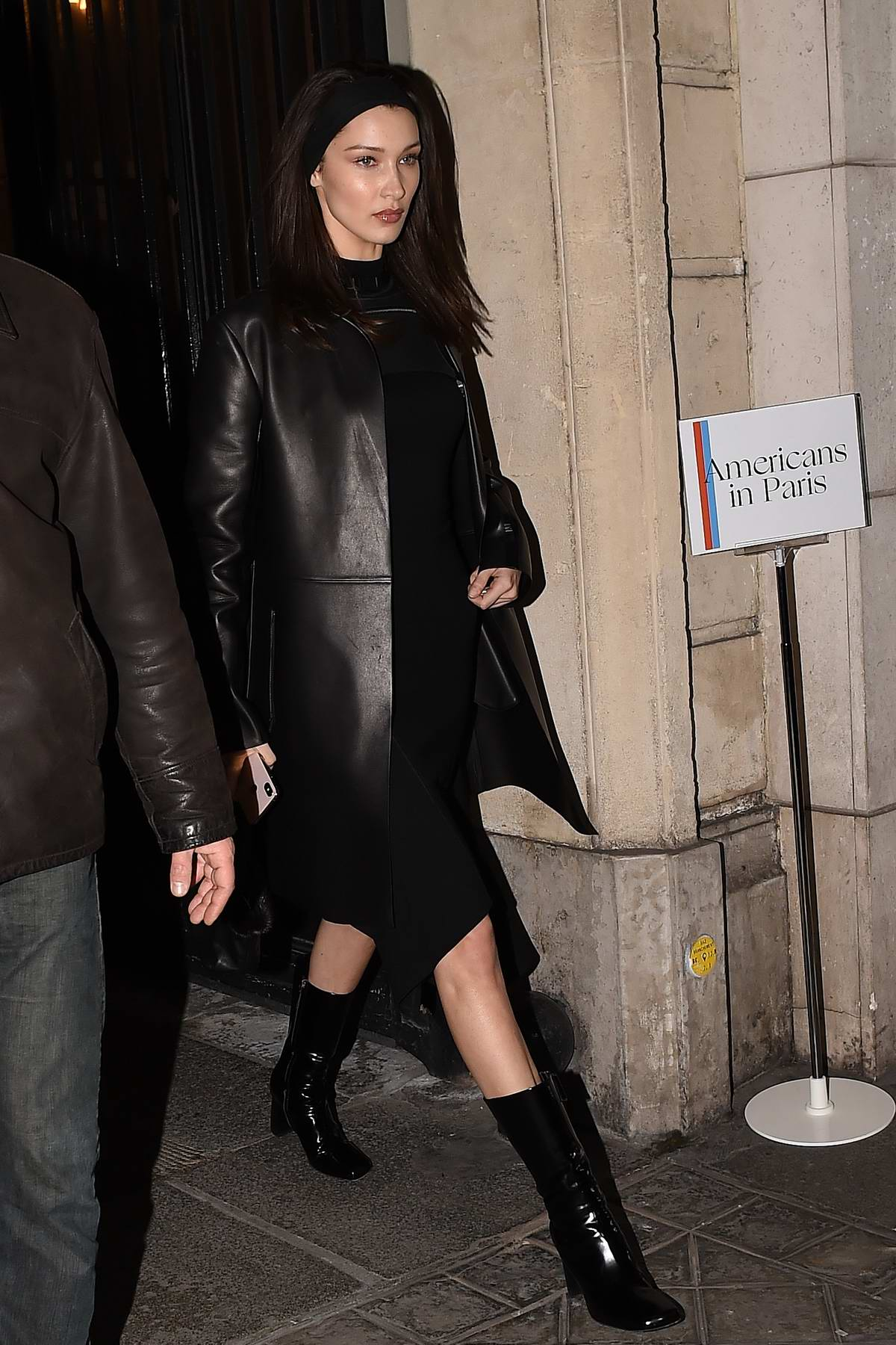 Bella Hadid attends the Vogue Party during Paris Fashion Week F/W 2019 in Paris, France