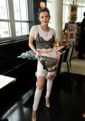 Bella Thorne attends a Meet & Greet at Sugar Factory in Miami, Florida