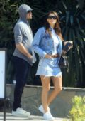 Camila Morrone and Leonardo DiCaprio steps out for some shopping on Melrose Place in West Hollywood, Los Angeles