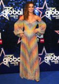 Cheryl Tweedy attends The Global Awards 2019 at The Hammersmith Apollo in London, UK