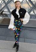 Chloe Grace Moretz attends the Louis Vuitton show during Paris Fashion Week F/W 2019/20 in Paris, France