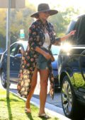 Chrissy Teigen steps out for some shopping at Couture Kids in West Hollywood, Los Angeles