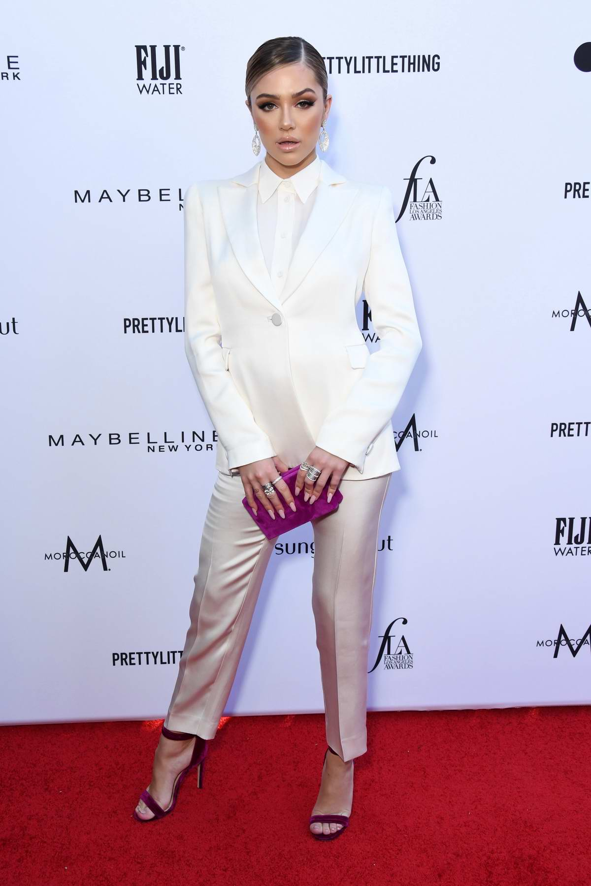 Delilah Belle Hamlin attends The Daily Front Row's 5th Annual Fashion Awards 2019 at The Beverly Hills Hotel in Los Angeles