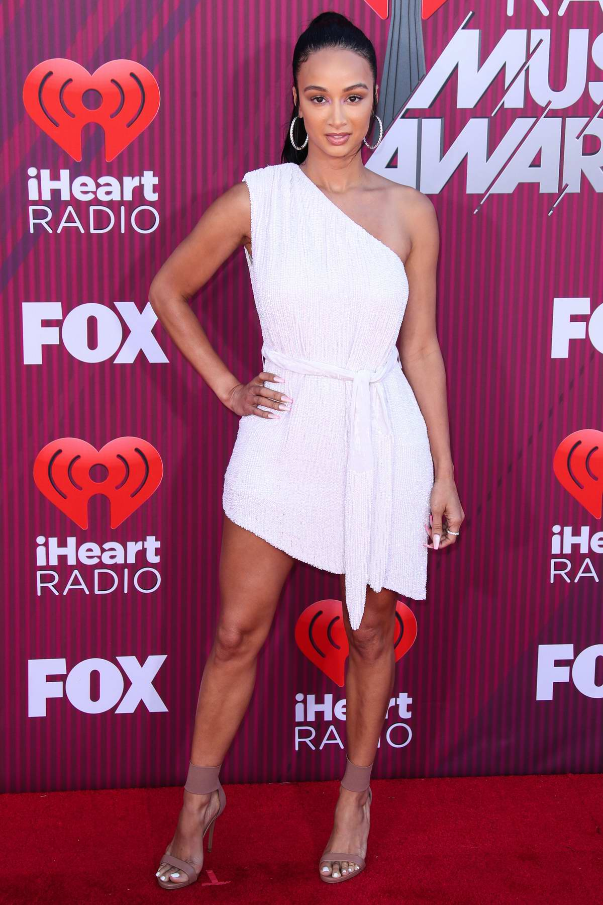 Draya Michele attends the 2019 iHeartRadio Music Awards at Microsoft Theater in Los Angeles