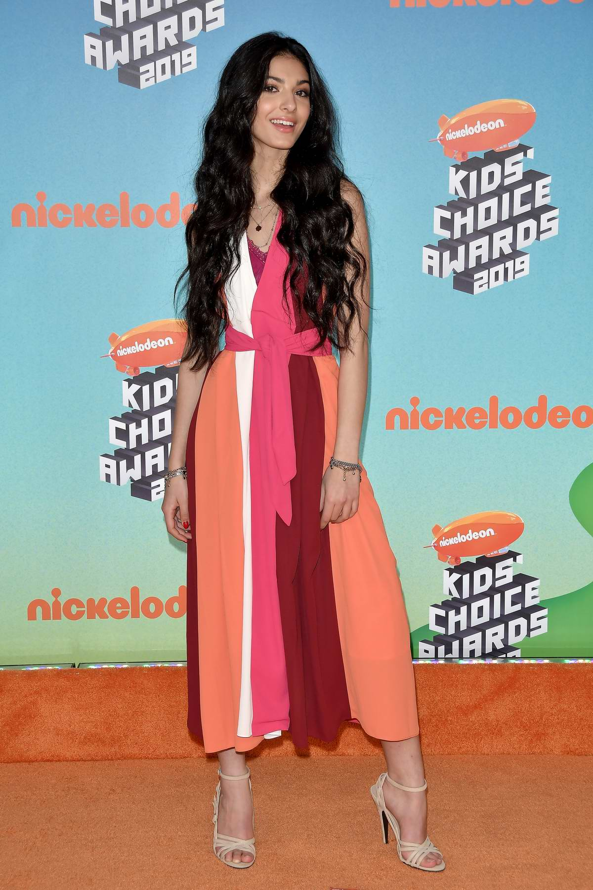 Elisa Maino attends the Nickelodeon's 2019 Kids' Choice Awards at Galen Center in Los Angeles
