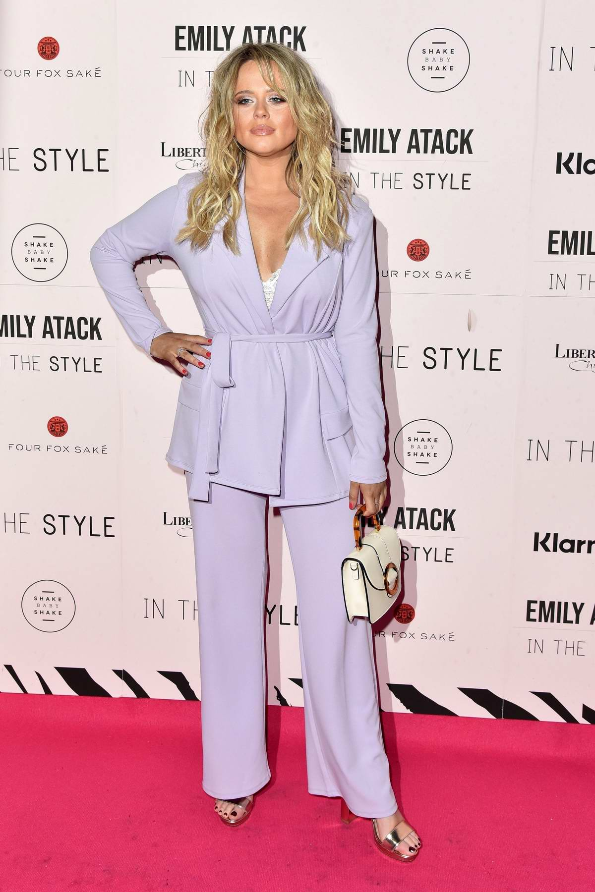 Emily Atack at the Emily Atack x In The Style Launch Party at Libertine in London, UK