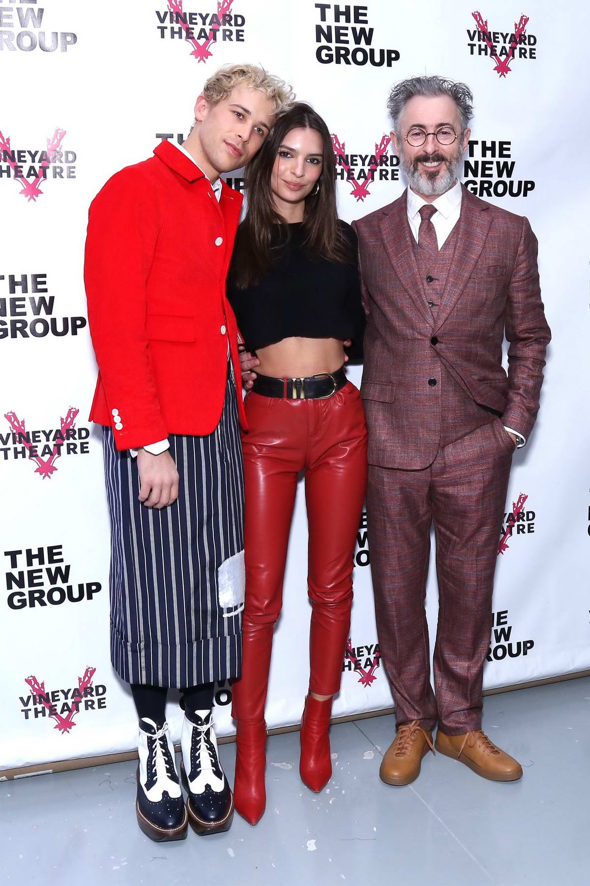Emily Ratajkowski attends 'Daddy' opening night after party at Green Fig Urban Eatery in New York City