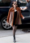 Emma Roberts looks trendy as she steps out in New York City
