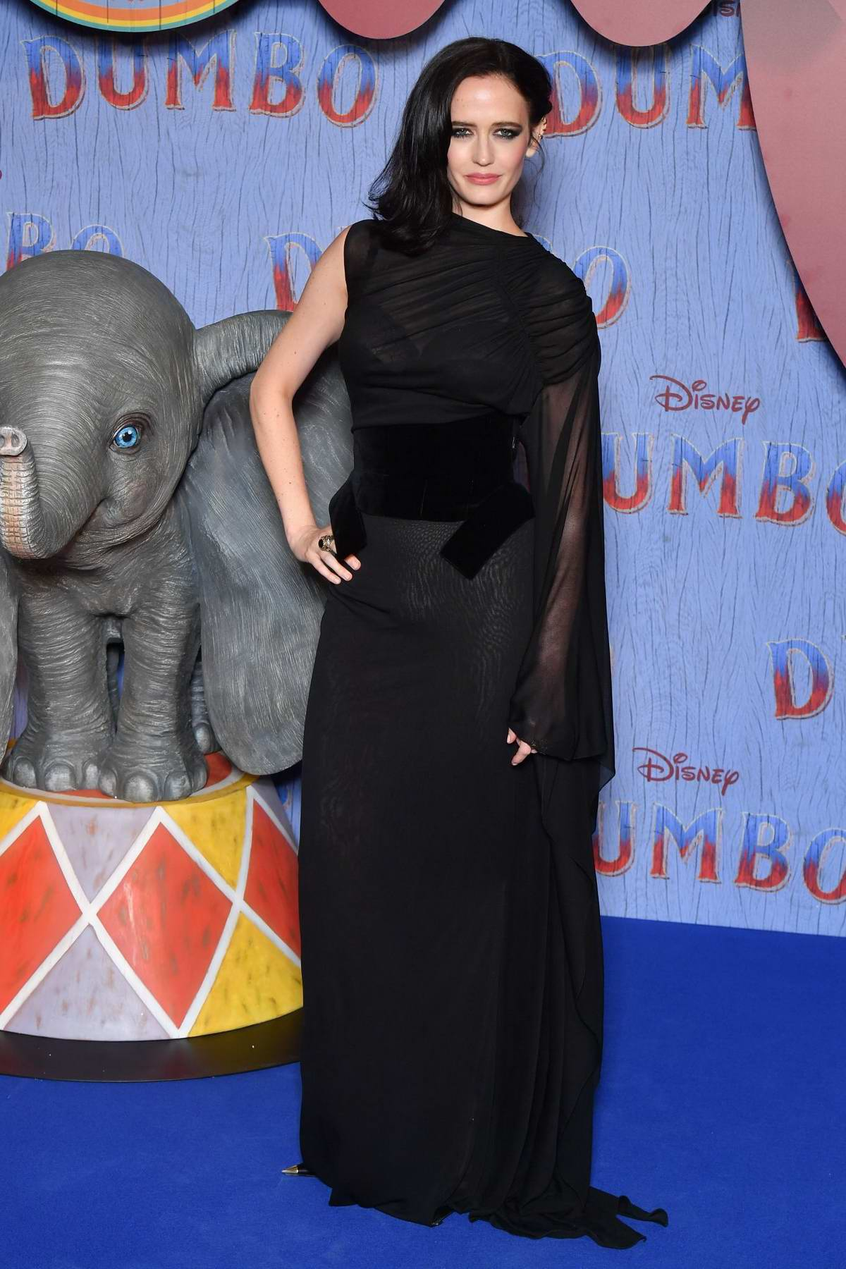 Eva Green attends 'Dumbo' Paris Gala Screening at Cinema Le Grand Rex in Paris, France