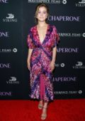 Haley Lu Richardson attends the New York Premiere of 'The Chaperone' at MoMa in New York City