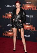 Halsey attends the World Premiere of 'Captain Marvel' at the El Capitan Theatre in Hollywood, California