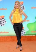 Heidi Montag attends the Nickelodeon's 2019 Kids' Choice Awards at Galen Center in Los Angeles