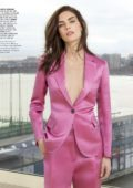 Hilary Rhoda features in Town & Country, USA - March 2019