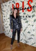Iris Mittenaere attends the launch party of new Iris Mittemaere for Morgan Collection at La Maison des Centraliens in Paris, France
