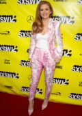 Isla Fisher attends 'The Beach Bum' Premiere at 2019 SXSW Conference and Festivals in Austin, Texas