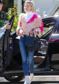 Jaime King looks stylish while out for a meeting at the Hotel San Vicente Inn in Los Angeles
