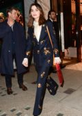 Jenna Coleman seen leaving a Gucci party in London, UK