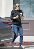 Jennifer Garner keeps it casual as she steps out for coffee in Studio City, Los Angeles