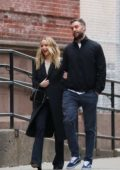 Jennifer Lawrence and Cooke Maroney enjoy a dinner date at Barrio Chino in New York City