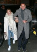 Jennifer Lopez and Alex Rodriguez head to the Polo Bar for dinner in New York City