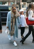 Jennifer Lopez and daughter Emme are a stylish duo while shopping in New York City