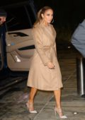 Jennifer Lopez heads out for late night meeting in New York City