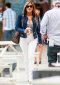 Jennifer Lopez looks stunning on the set of 'Hustlers' in New York City