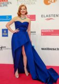 Jessica Chastain attends the 2019 Goldene Kamera Awards in Berlin, Germany