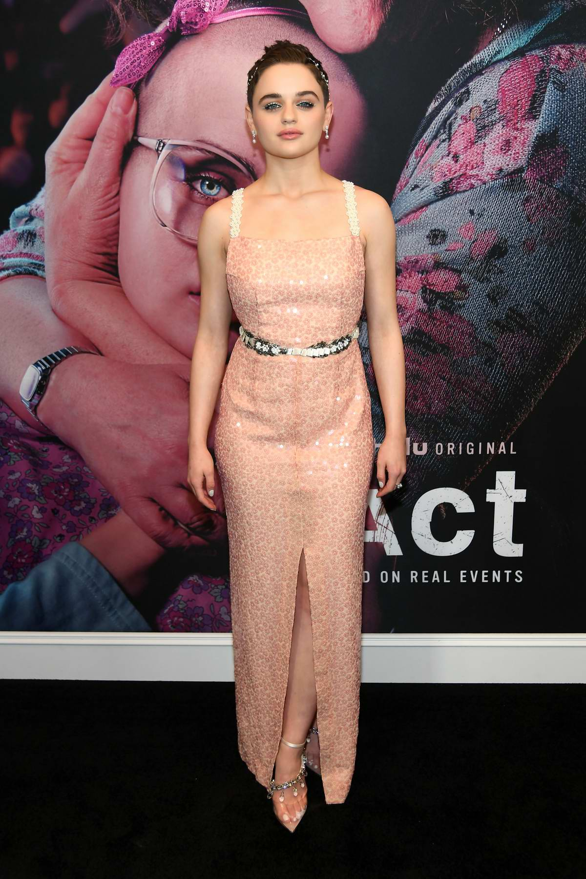 Joey King attends HULU's Season Premiere of 'The Act' in New York City