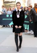 Joey King greet her fans as she visits AOL Build Series to promote 'The Act' in New York City