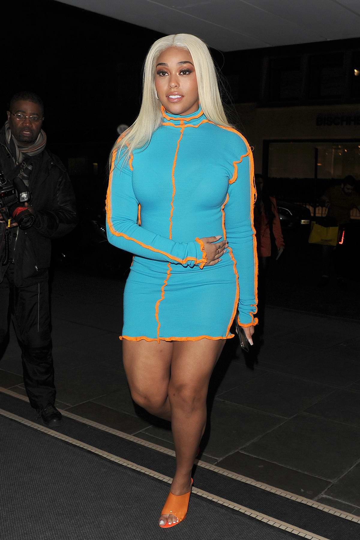 Jordyn Woods heads to the Eyelure X Jordyn Woods Launch Party in London, UK