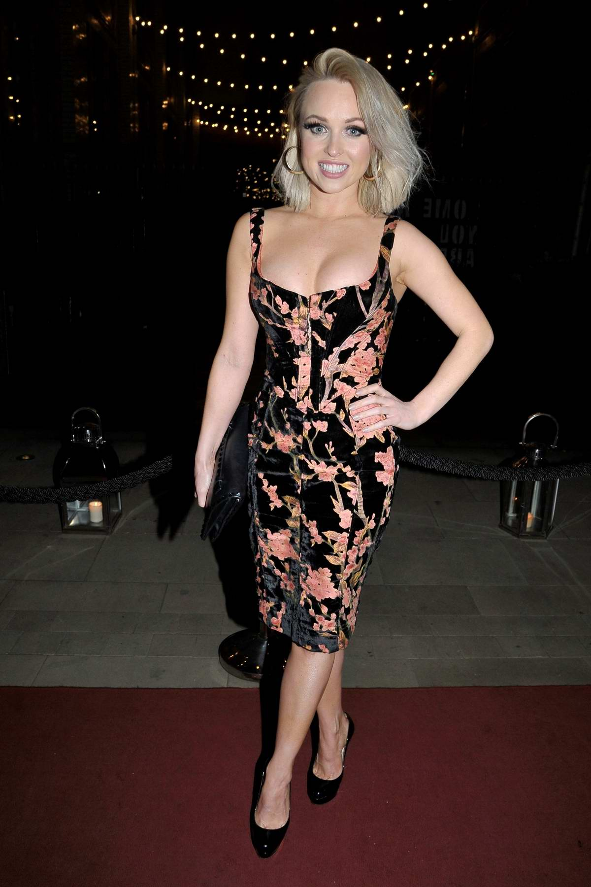 Jorgie Porter attends The Christie Charity Ball at Principal Hotel in Manchester, UK
