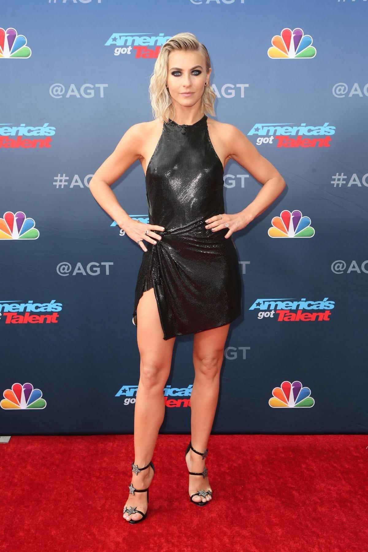 Julianne Hough attends NBC's 'America's Got Talent' Season 14 Kick-Off in Pasadena, California