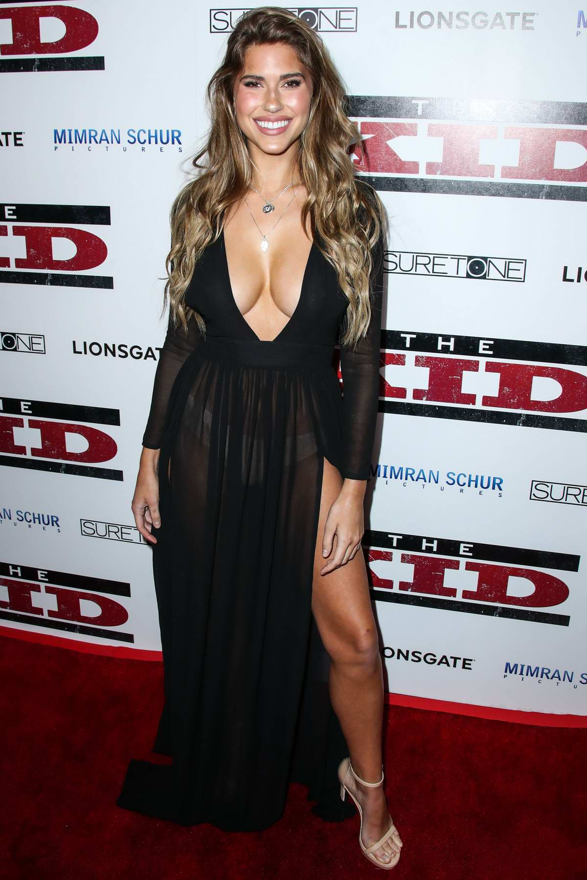 Kara Del Toro attends 'The Kid' Film Premiere at ArcLight Cinemas in Los Angeles