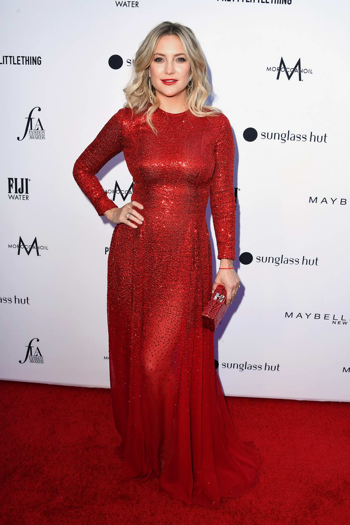 Kate Hudson attends The Daily Front Row's 5th Annual Fashion Awards at The Beverly Hills Hotel in Los Angeles