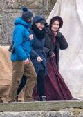 Kate Winslet spotted on set of new movie 'Ammonite' in Devon, UK