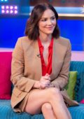 Katharine McPhee makes an appearance on Sunday Brunch show in London, UK