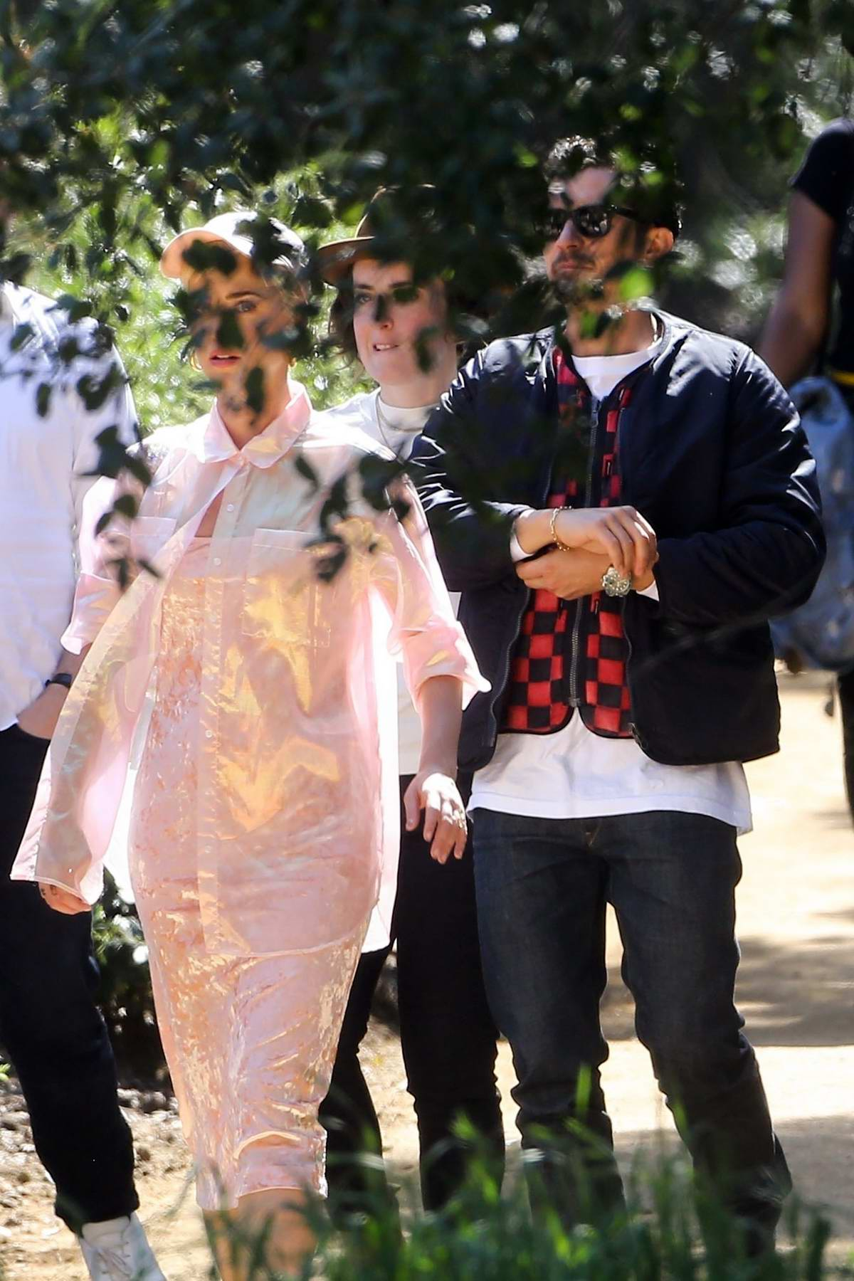 Katy Perry and Orlando Bloom attend services at Kanye West's church in Los Angeles