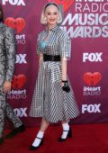 Katy Perry attends the 2019 iHeartRadio Music Awards at Microsoft Theater in Los Angeles