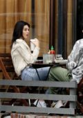 Kendall Jenner seen enjoying lunch with friends in Los Angeles