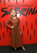Kiernan Shipka at the Netflix's 'The Chilling Adventures of Sabrina' Q&A and Reception in West Hollywood, Los Angeles
