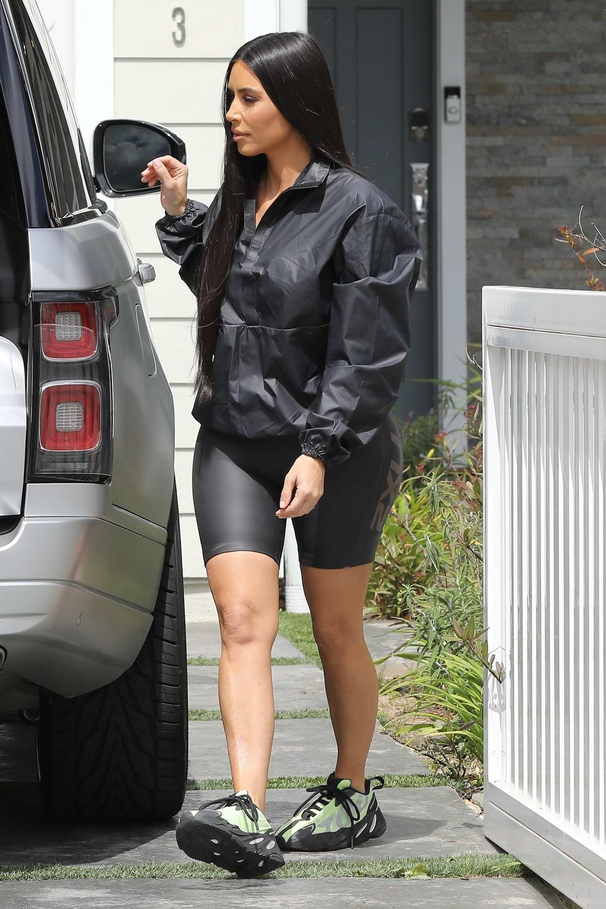 Kim Kardashian takes daughter North West to meet JoJo Siwa for video collaboration in Los Angeles