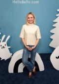 Kristen Bell at Alice Kitchen In LA For Hello Bello Launch Celebration in West Hollywood, Los Angeles