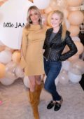 Kristin Cavallari and Heidi Montag at the Little James by Kristin Cavallari Pop-up Event in Pacific Palisades, California